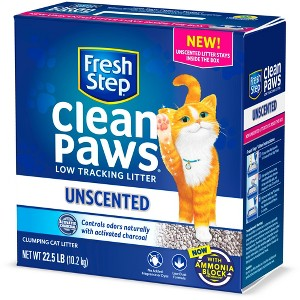 Fresh Step Clean Paws Unscented