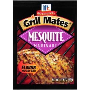 Grill Mates Dry Recipe Mixes