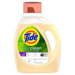 Tide Purclean laundry detergent