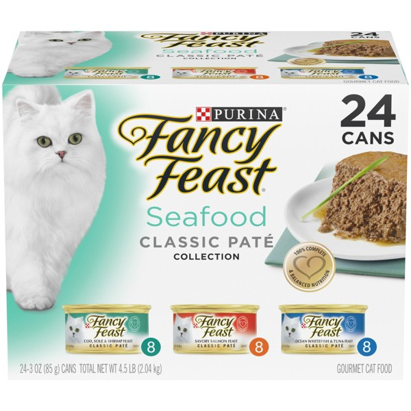 Fancy Feast Cat Food Variety Packs product image