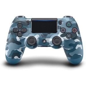 PS4  Controller Blue Camo