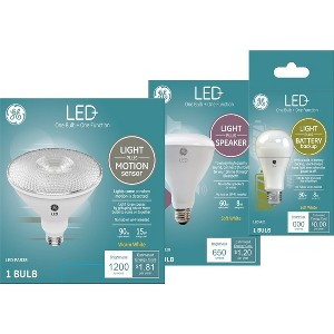 New GE LED+ Light Bulbs