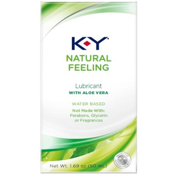 K-Y Natural Feeling Aloe Vera Lube product image