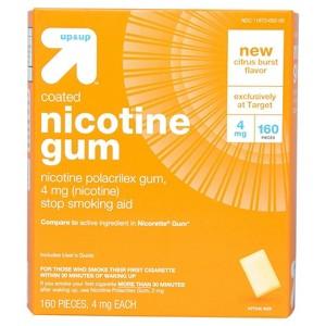up & up Nicotine Gum