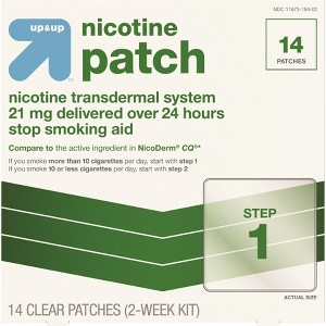 up & up Nicotine Patches
