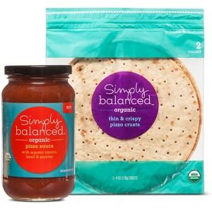 Simply Balanced Pizza Crust/Sauce
