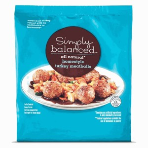 Simply Balanced Frozen Meatballs