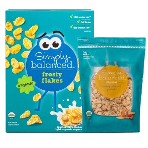Simply Balanced Cereal or Granola