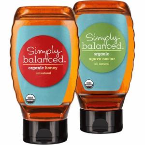 Simply Balanced Honey or Agave