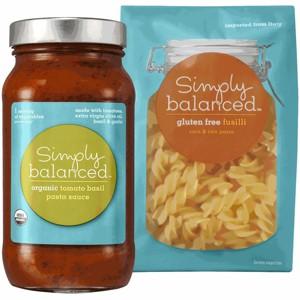 Simply Balanced Pasta or Sauce