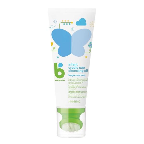 Babyganics Cradle Cap Cleanser Oil product image