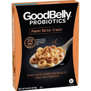 New! GoodBelly PB Crunch Cereal