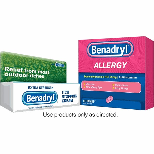 Benadryl product image