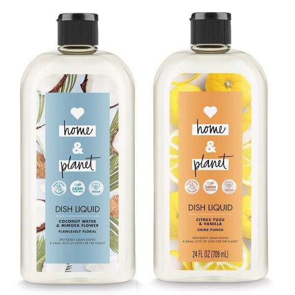 Love, Home & Planet Dish Liquid product image