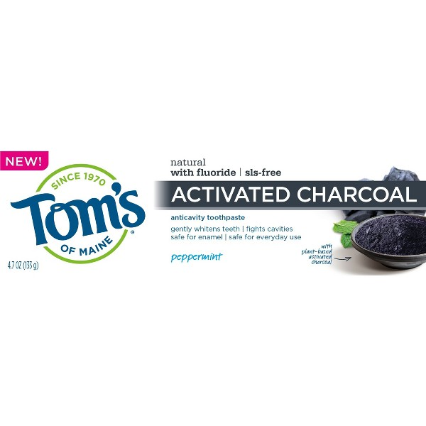Tom's of Maine Charcoal Toothpaste product image