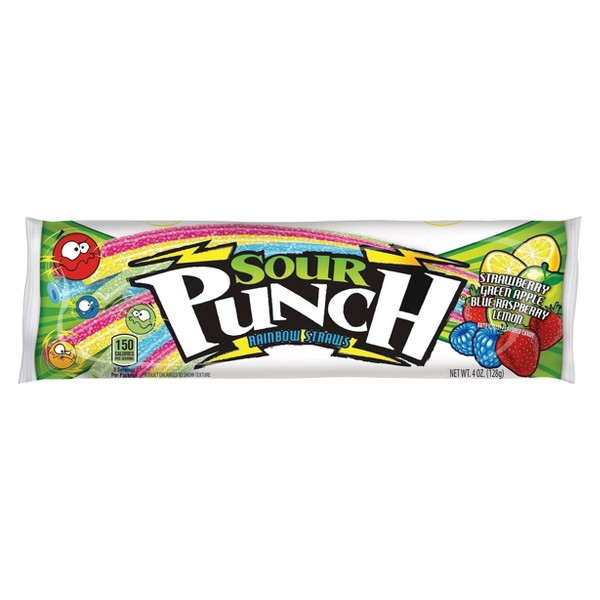 Sour Punch Rainbow Straws product image