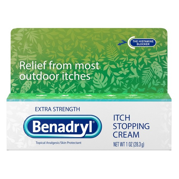 Benadryl Topical Itch Relief product image