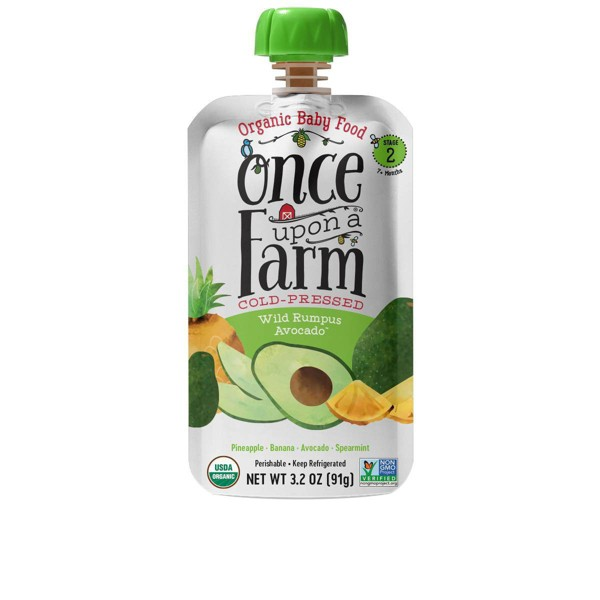 Once Upon a Farm Organic Pouches product image