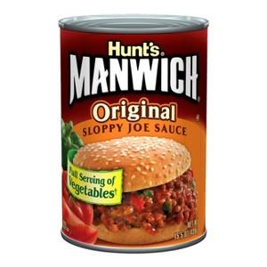 Manwich Sloppy Joe Sauce