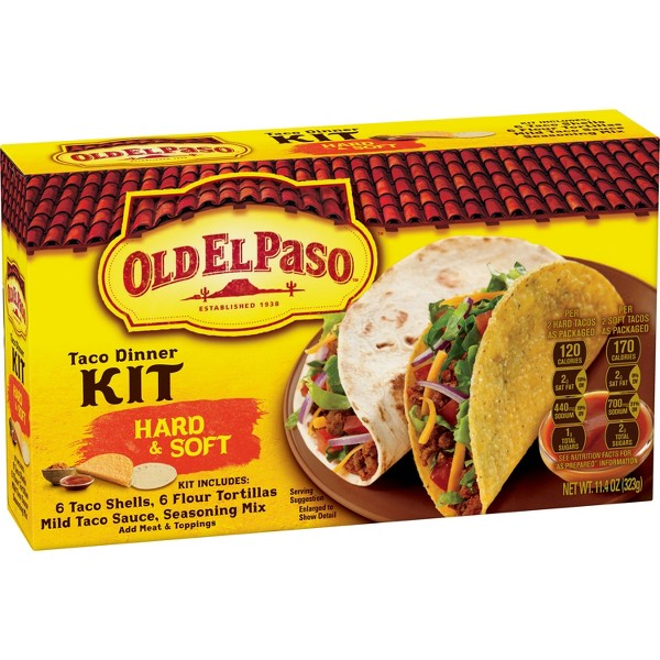 Old El Paso Dinner Kits product image