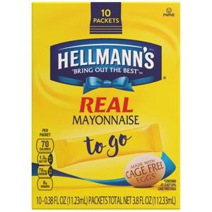 Hellmann's Mayonnaise To Go Pkts