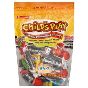 Child's Play and Fruit Chew Bags