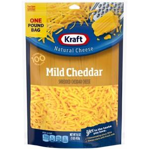Kraft & Cracker Barrel Natural Cheese