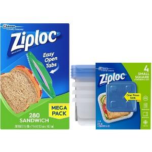 Ziploc Bags & Containers