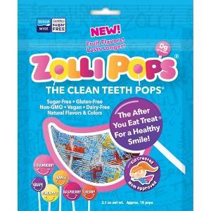 Zollipops Clean Teeth Candy