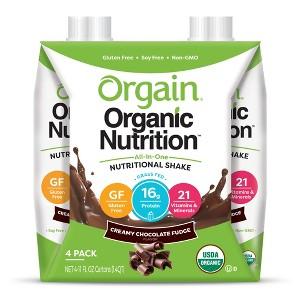 Orgain Nutritional Shakes
