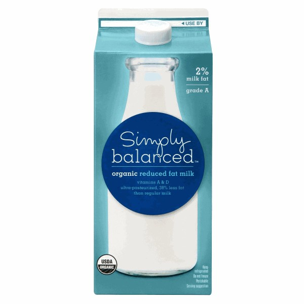 Simply Balanced Milk product image