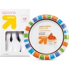 up & up Disposable Dinnerware
