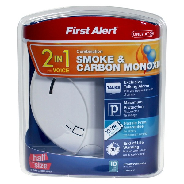 First Alert Smoke & CO Alarm product image