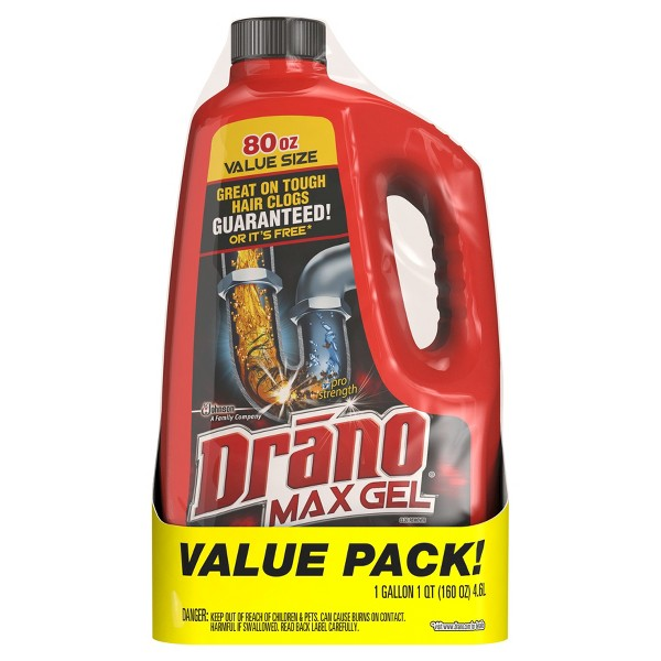 Drano Max Gel Value Pack product image