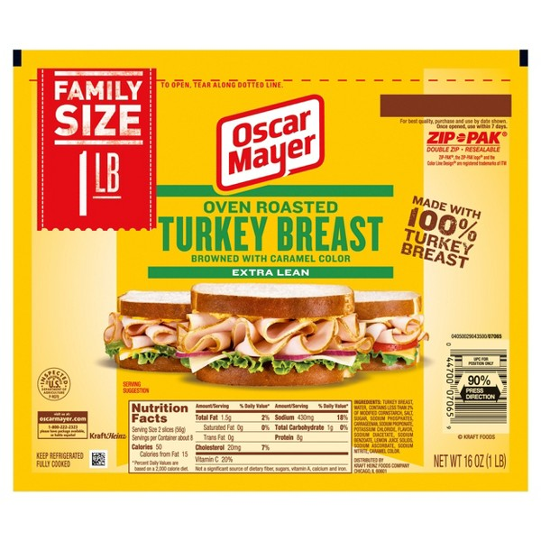 Oscar Mayer Shaved Lunchmeat product image