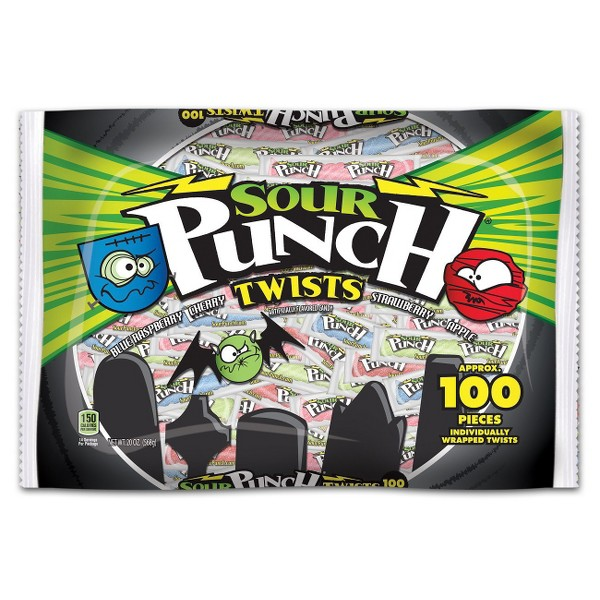 Sour Punch Halloween 100ct Bag product image