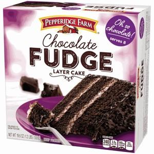Pepperidge Farm Frozen Layer Cake