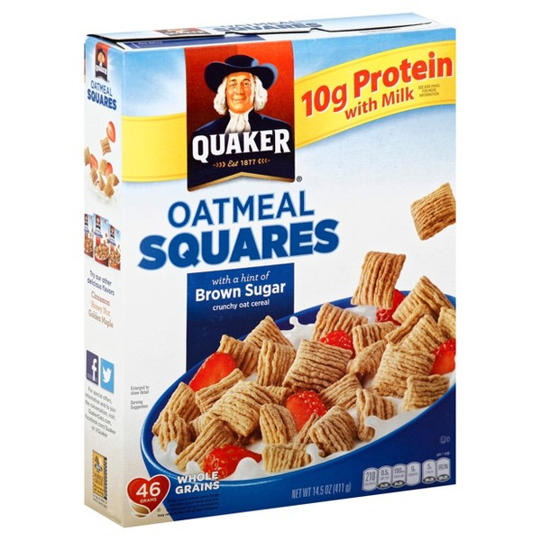 Quaker Oatmeal Squares product image