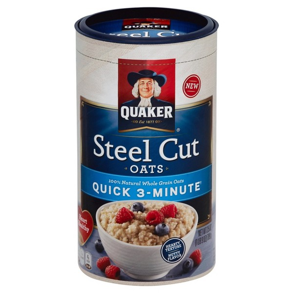 Quaker Steel Cut Canisters product image