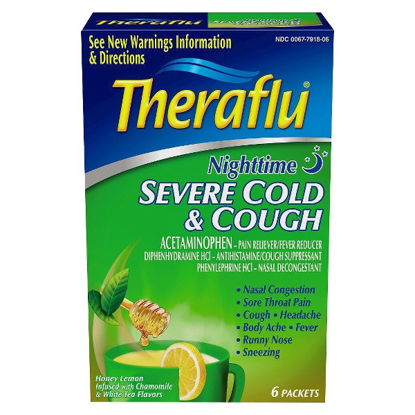 Theraflu Cold and Flu Products product image