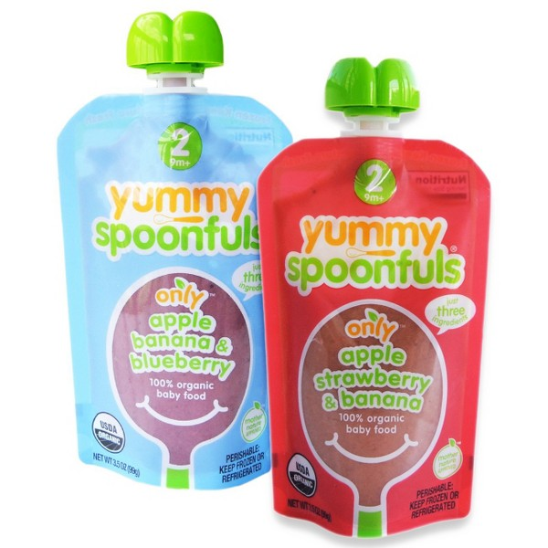 Yummy Spoonfuls Stage 2 Baby Food product image
