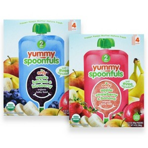 Yummy Spoonfuls Baby Food 4 Packs