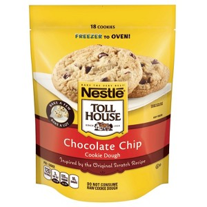Toll House Frozen Cookie Dough