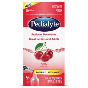 Pedialyte Cherry Powder Packs