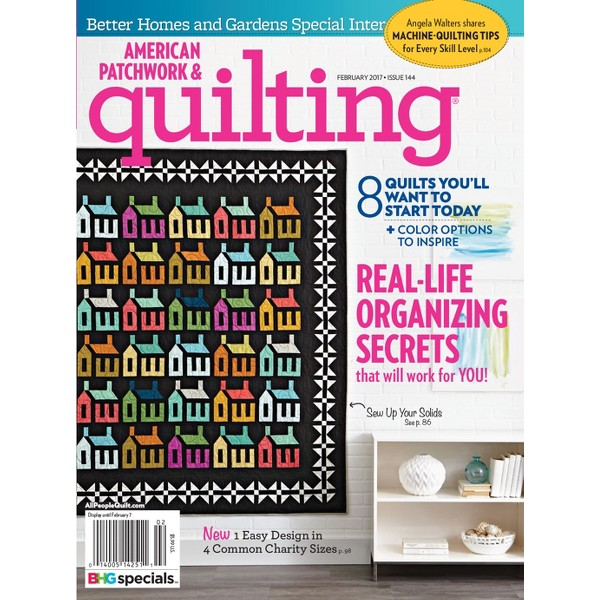 BHG American Patchwork & Quilting product image