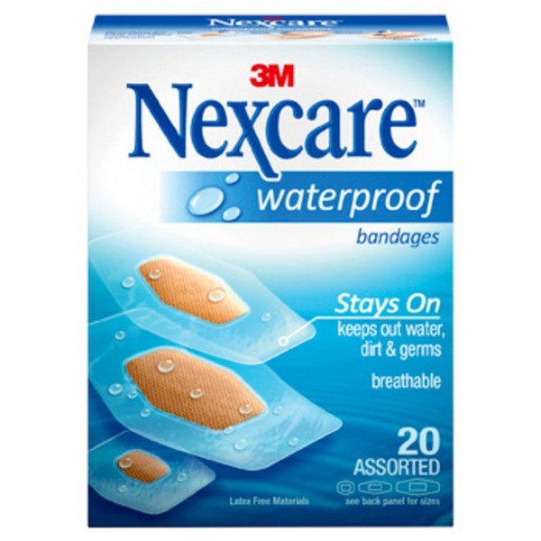 Nexcare Waterproof Bandages product image