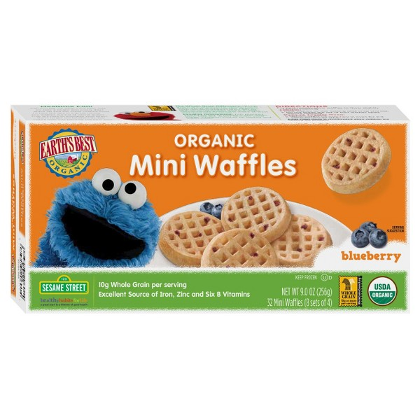 Earth's Best Blueberry Waffles product image