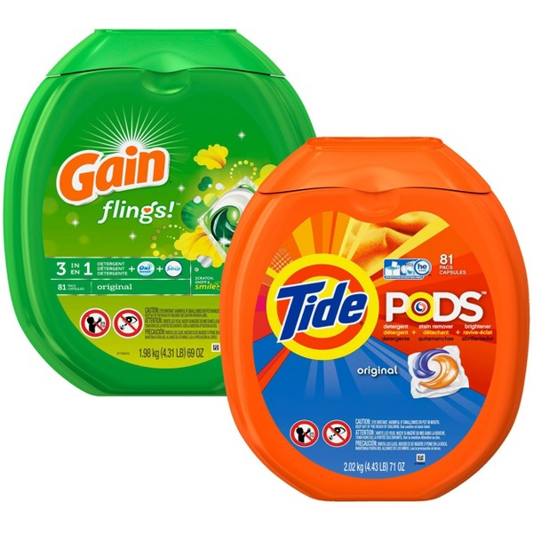 Tide Pods & Gain Flings product image