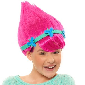 Trolls Poppy Wig