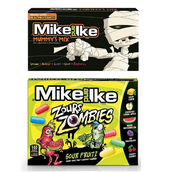 Mike and Ike Mummy Mix or Zours product image